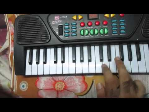 Gerua   Dilwale   Toy Piano Cover