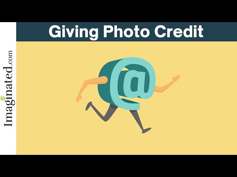 How to Give Photo Credit (Instagram, Facebook, etc.)