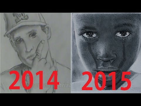 2 Years of Drawing Progress