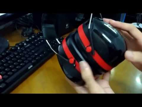 3M Peltor Optime III H540A Ear Defender [SNR 35dB] Unboxing + Overview