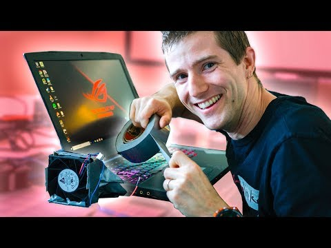 World's CRAZIEST 5GHz LAPTOP - Asus G703G