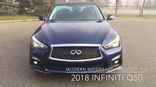 Modern Mississauga reviews the 2018 Infiniti Q50