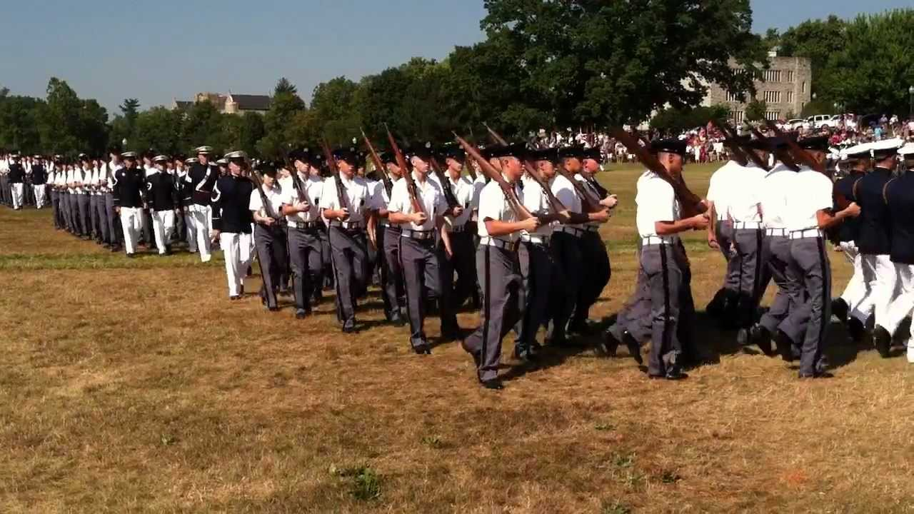2011 Virginia Tech - Corps of Cadets - New Cadet Week - Pass in ...