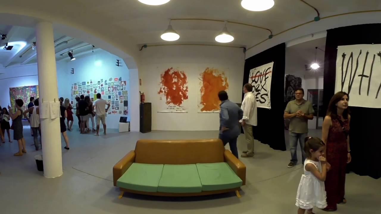 D Virtual Reality Exhibition : Virtual reality art exhibition at artik center mallorca youtube