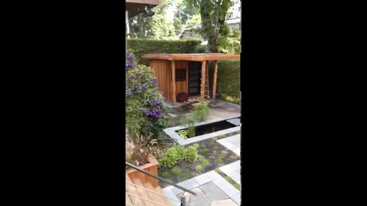 Restructuration compl te d 39 un jardin urbain youtube for Jardin urbain