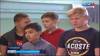 """В гребном клубе """"Каспий"""" проходят соревнования по дисциплине гребля-индор"""