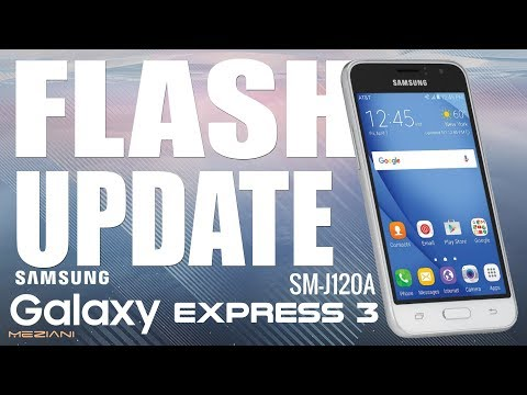 Flash Update SAMSUNG GALAXY EXPRESS 3 SM-J120A Android 6.0.1
