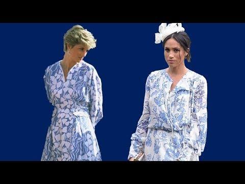 Meghan Markle dressed just like Princess Diana