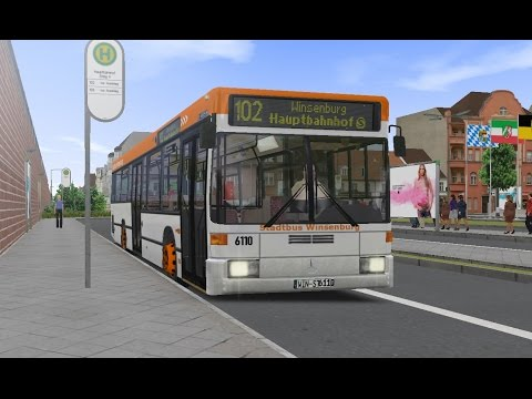 Let s play omsi 2 linie 8343 in tettau mit mb o405n2 for Mercedes benz independence blvd