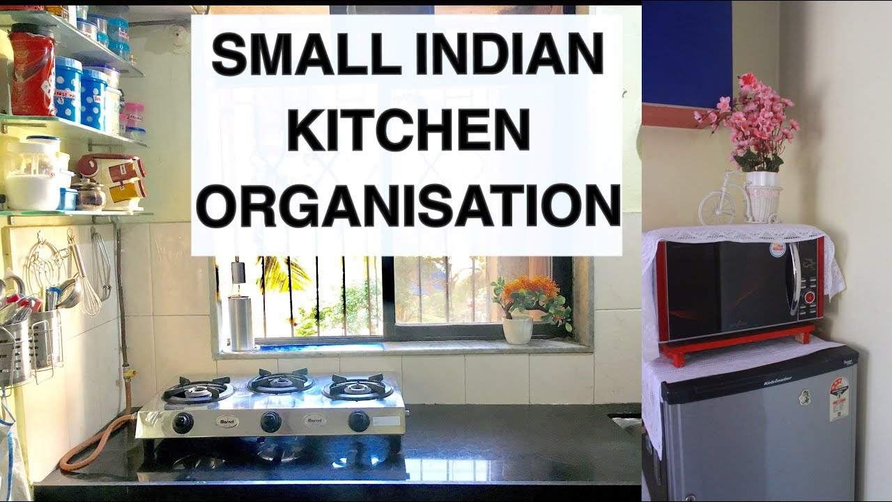 How To Organise Small Kitchen Small Indian Kitchen Tour Ruchistylecorner