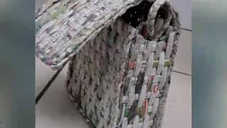 Recycled Newspaper # Designer Transformations