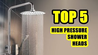 TOP 5: Best High Pressure Shower Head 2020 | Perfect for a Beautiful Bathrooms