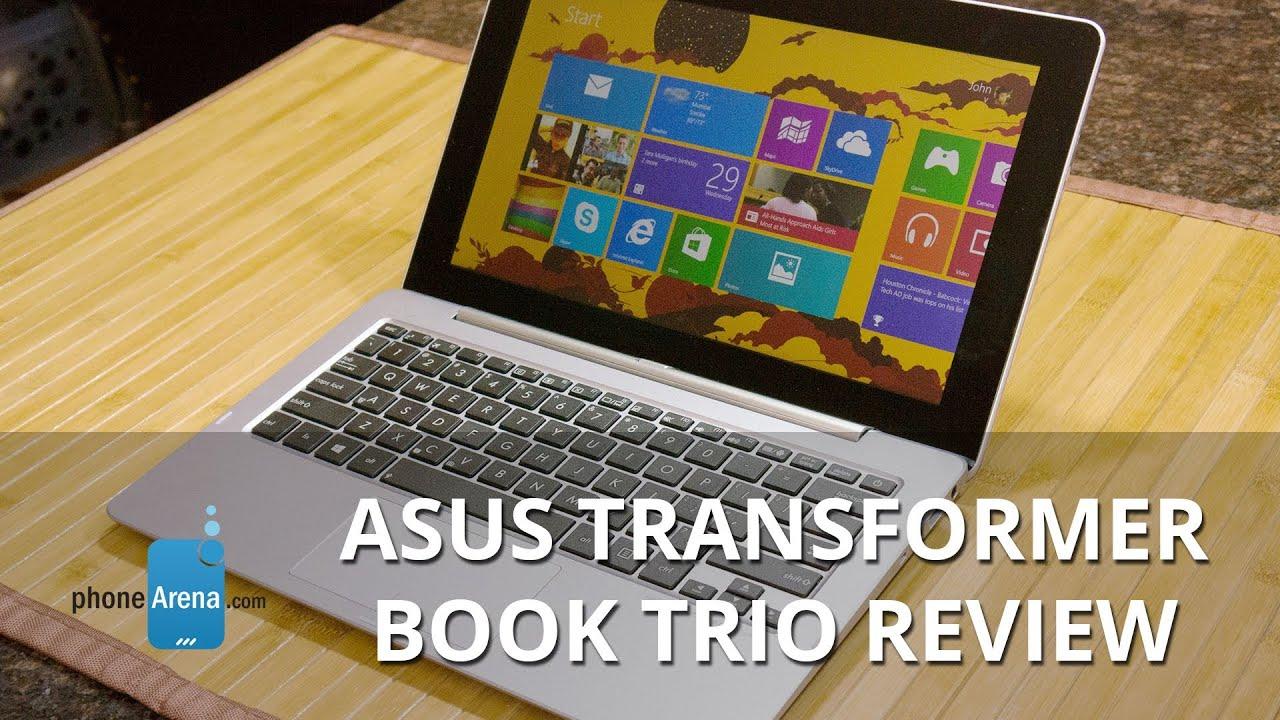 Asus Transformer Book Trio Review