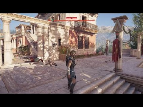 Assassin's Creed® Odyssey Gameplay testing new legendary sword OMG that Katana is way OP |