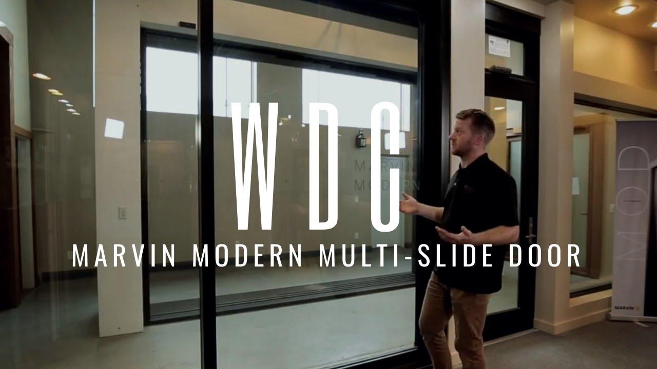 marvin modern multi sliding door showcase
