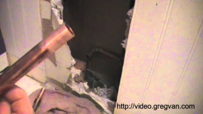 How To Install Toilet Water Hammer Arrestor - YouTube