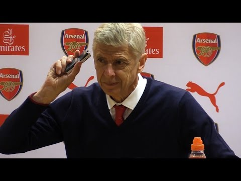 Arsenal 3-0 Chelsea - Arsene Wenger Full Post Match Press Conference