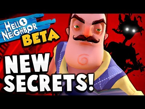 SHADOW THING IS HERE!! NEW BETA UPDATE! Finding Secrets in the Market - Hello Neighbor BETA Gameplay
