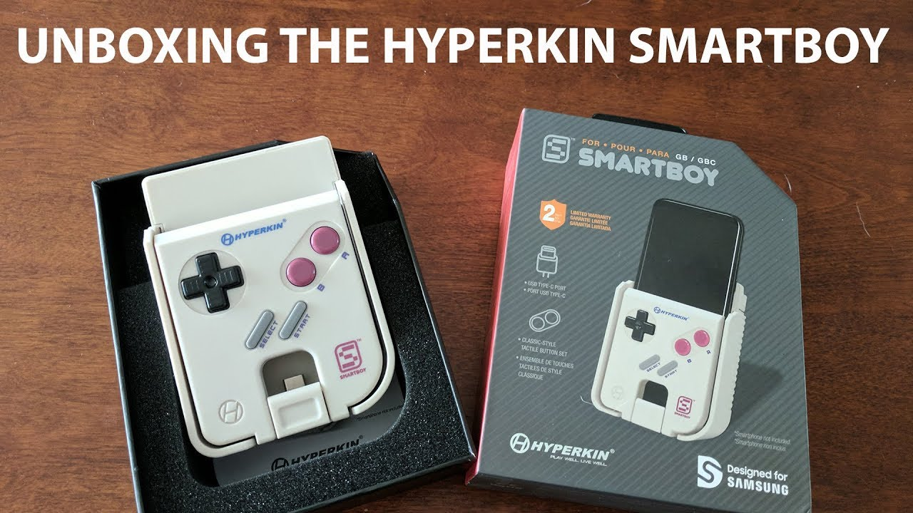 Unboxing The Hyperkin Smart Boy Game Boy Adapter Play Cartridges - Hyperkin smartphone gameboy