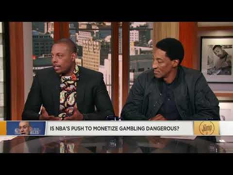 Scottie Pippen on NBA's push to monetize gambling: It is a little dangerous | The Jump