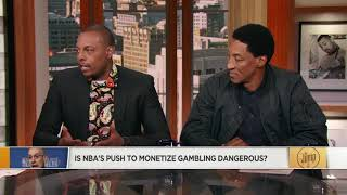 Scottie Pippen on NBA's push to monetize gambling: It is a little dangerous | The Jump