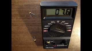 Цифрой прибор для измерения ёмкости конденсаторов(Прибор для измерения ёмкости конденсаторов модели СМ-7115А. Обзор и фотографии смотрите тут http://elwo.ru/publ/skhemy_izm..., 2014-11-28T07:43:03.000Z)