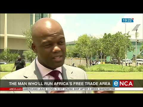The man who will run Africa's free trade area