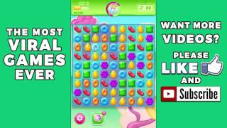 Candy Crush Jelly Saga Level 8 🌟🌟🌟 No Boosters ✔