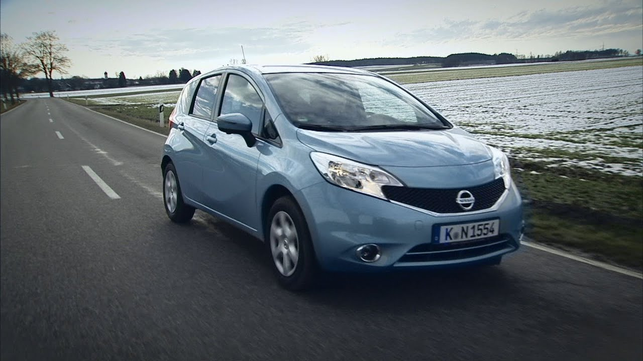 nissan note im test autotest 2014 adac youtube. Black Bedroom Furniture Sets. Home Design Ideas