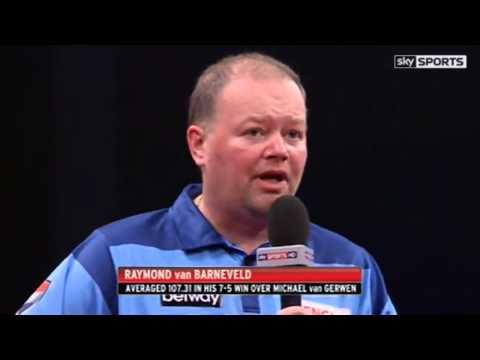 Raymond van Barnevelds Interview after MvG match