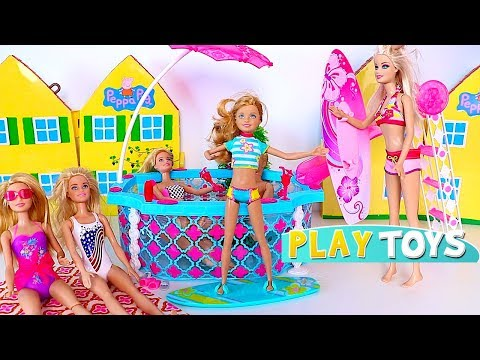 Thumbnail: Barbie Doll Swimming Pool Party
