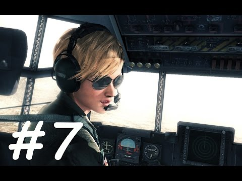 Ace Combat Assault Horizon Walkthrough Gameplay Part 7 Campaign Mission 7 [ Spooky ]