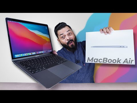 Apple MacBook Air M1 2020 Indian Retail Unit Unboxing & First Impressions ⚡ Crazy Fast!!!