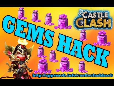 Castle Clash Hack - How To Get UNLIMITED Gems (live Proof)