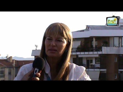 ISABELLA MARIELLI  AL MICROFONO DI CLAUDIA SABA