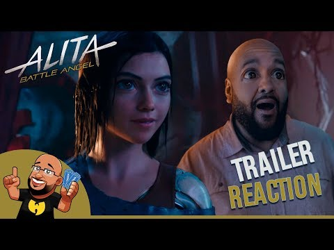 Alita: Battle Angel Trailer #2 REACTION
