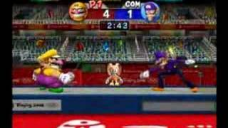 Mario and Sonic at the Olympic Games Fencing
