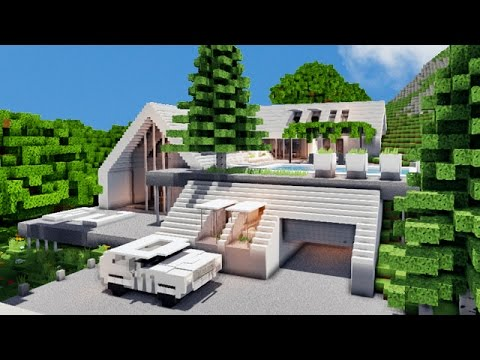 Minecraft le chalet du luxe o youtube for Photo maison luxe