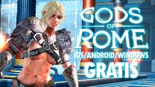 Gods Of Rome Gameplay En Español iOS/Android/Windows GRATIS