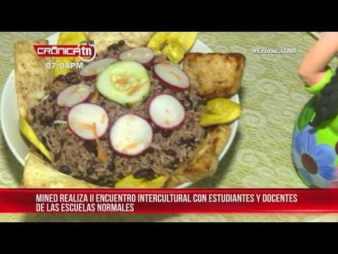 MINED Realiza 2do Encuentro Intercultural Con Las Escuelas Normales En Nicaragua