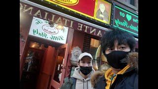 뉴욕 맨하탄 리틀이태리 송아지요리 맛집에 남자2명이가면…