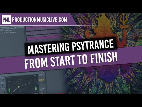 Mastering Psytrance From Start To Finish - Ozone 8,  Ableton 10