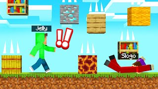 DODGE The DEADLY BLOCK RAIN! (Minecraft)
