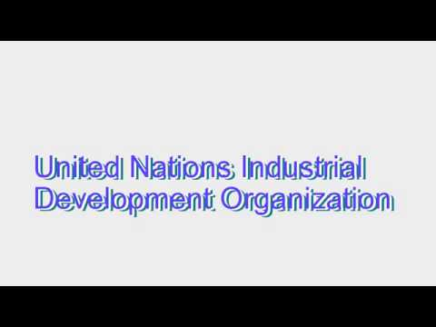 How to Pronounce United Nations Industrial Development Organization