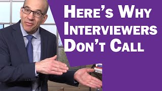 STOP Blaming Yourself When Interviewers Don't Call