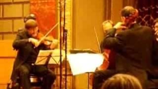 Shostakovich  String Quartet No. 8 op 110  plays  Daniel  Quart.wmv
