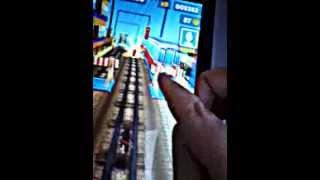 Subway surfers на планшете android 4.0 видео обзор на игру(Игра., 2013-03-10T08:47:49.000Z)