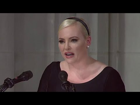 Meghan McCain: 'America of John McCain Has No Need To Be Made Great Again' | NBC News