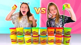 DON'T Choose the Wrong PLAY DOH Slime Challenge
