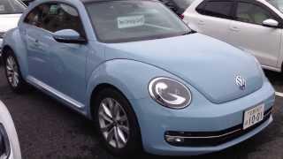 新型VW The Beetle『ザ・ビートル』 体感デニムブルー